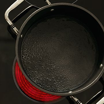 The right stove setting when cooking