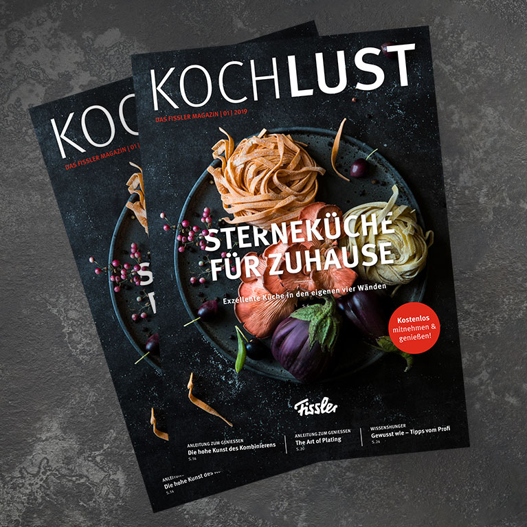 Das Fissler Kochlust Magazin