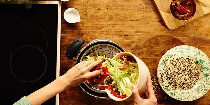 Gerichte schnell zubereiten mit dem Schnellkochtopf