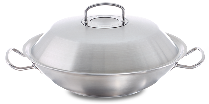 original-profi collection® Wok mit Metalldeckel